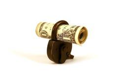货币安全serie 免版税库存照片