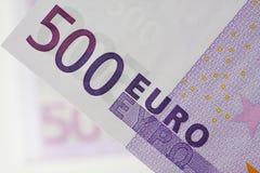 货币欧元货币 库存照片