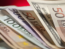 货币纸张 库存照片