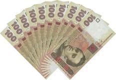 货币风扇 免版税库存照片
