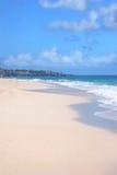 巴布达海滩 免版税库存照片