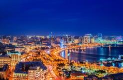 巴库,阿塞拜疆 库存照片