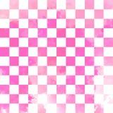 水彩传染媒介几何无缝的样式 库存图片