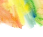 水彩设计要素 库存图片