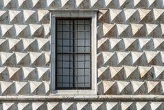 费拉拉-有历史的宫殿 免版税库存图片