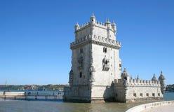 贝拉母de里斯本torre 库存照片