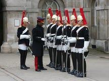 更改的卫兵伦敦 免版税图库摄影