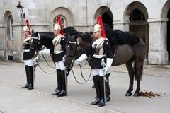 更改的卫兵伦敦 图库摄影