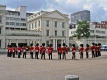 更改的卫兵伦敦 库存照片