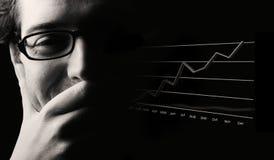 兴旺的经济展望 免版税图库摄影