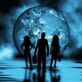 贸易的世界 免版税图库摄影