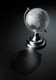 水晶地球球 图库摄影