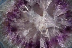 水晶纹理 免版税库存图片