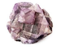 水晶紫色 免版税库存照片