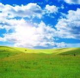 晴朗日的春天 库存照片
