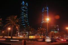 巴林财务港口 免版税库存照片