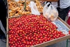 水果市场 库存照片