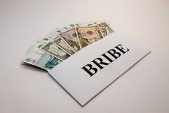 贿款 免版税库存照片