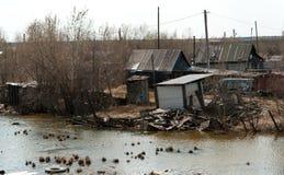 贫民窟 免版税图库摄影