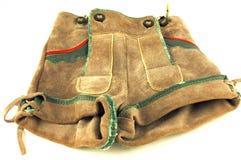 巴法力亚皮革长裤 免版税库存图片