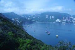 洪海岛kong lantau 免版税库存图片