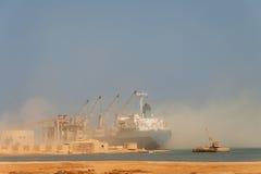货物干燥船 库存图片