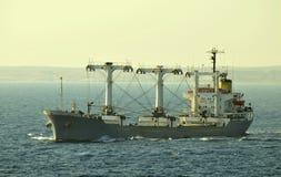 货物承运人干燥船 免版税库存照片