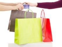购物的浏览 免版税图库摄影