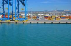 货物行业意大利发运 库存照片
