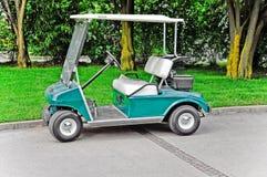 购物车高尔夫球 库存图片