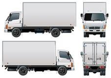 货物送货卡车向量 库存图片