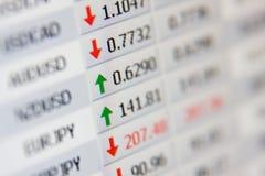费率股票 免版税库存照片