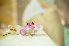 浴盆的女孩 免版税库存照片