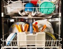 洗碗机厨房 库存图片
