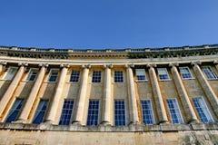 浴英王乔治一世至三世时期大阳台 免版税库存照片