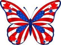 蝴蝶美国 免版税库存图片