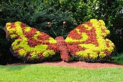 蝴蝶装饰庭院巨人 免版税图库摄影