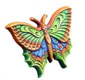 蝴蝶装饰物 免版税库存照片