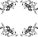 蝴蝶装饰装饰品 免版税库存图片