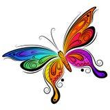 蝴蝶设计向量 免版税库存照片