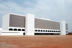 巴西利亚国家图书馆 免版税库存图片