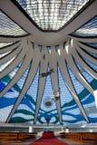 巴西利亚巴西大教堂 免版税库存照片