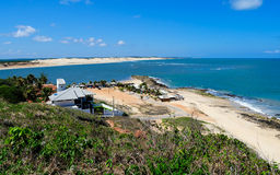 巴西海岸线 库存照片