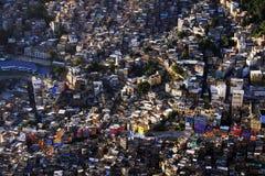 巴西favela 免版税图库摄影