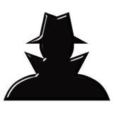 间谍 免版税库存照片
