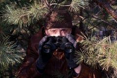 间谍 图库摄影