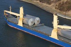 货轮的详细资料 免版税图库摄影