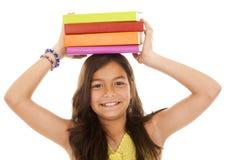 年轻人的儿童去的学校 免版税库存图片