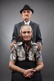 年长夫妇 库存图片