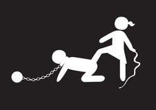 奴隶制 库存图片